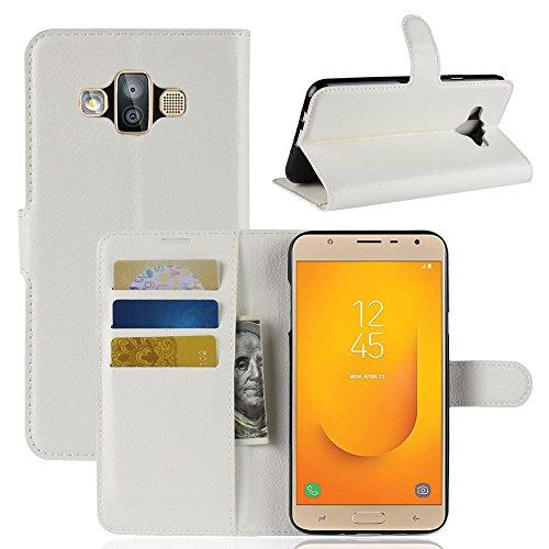 Funda   Capirotazo Billetera Samsung Galaxy J7 DUO  Blanco