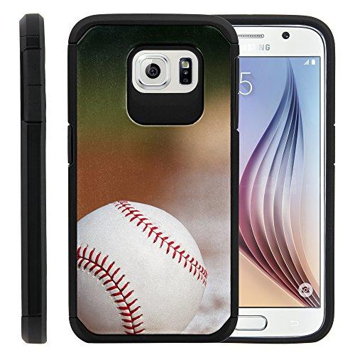 Captivate Schutzhülle für Galaxy S6 VI SM-G920 (T Mobile, Sprint, AT&T, US Cellular, Verizon), Baseball Blur