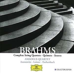 Brahms: Streichquartette, -quintette, -sextette