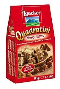 Loacker Quadratini Napolitaner Wafer, 125g