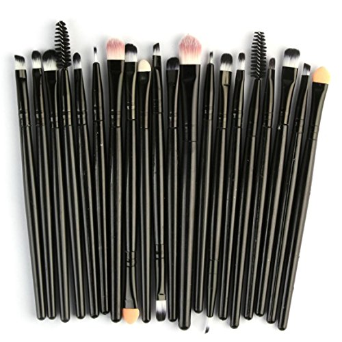 Moonuy Make-up pinsel set werkzeuge make-up puderpinsel lidschatten pinsel eyeliner pinsel schwamm...