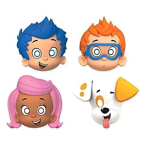 Bubble Guppies Party Masks [8 Per