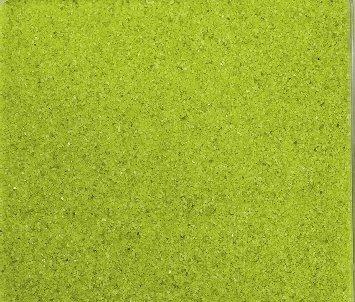 arbig ca 0,5 mm. 1 KG in grün hellgrün APFELGRÜN -53 (Bunter Sand)