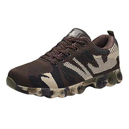 Dasongff Herren Sneaker Camouflage Laufschuhe Männer Shock Absorbing Turnschuhe Sportschuhe Comfort Fitnessschuhe Ultraleicht Textil Schuhe