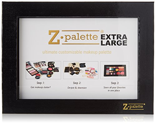 Z palette Extar Large Black make up palette