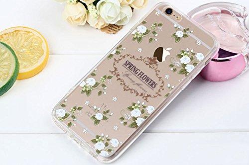 iPhone 5 Case , Bonice iPhone 5S Cover,Bonice Colorato Ultra Thin Morbido TPU Silicone Rubber Clear Trasparente Back Creativo Case –pulcino 02 model 5