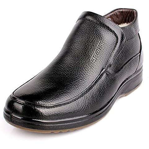 Cotone scarpe antiscivolo mezza età scarpe/ scarpe di cuoio e