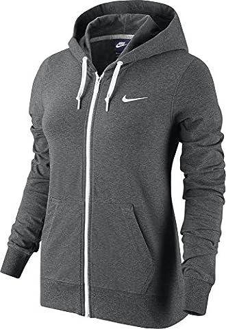 Gilet Nike Femme - Nike Nsw Fz W Jrsy-Hoodie Sweat-shirt-Femme XL
