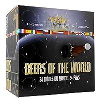Grâce à cette Box, découvrez et dégustez 24 bières en provenance de 24 pays différents ! Derrière chaque case, retrouvez une bière différente, à déguster avec votre verre de dégustation inclus! La Box idéale pour faire voyager les papilles des amateu...