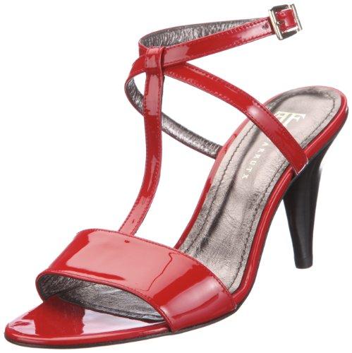 Farrutx sandal 42035, Sandales mode femme rouge - V.3
