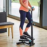 Mini Stepper Mini Home Stepper mit Handgriff Workout Fitnessgerät Sport Fitnessstudio