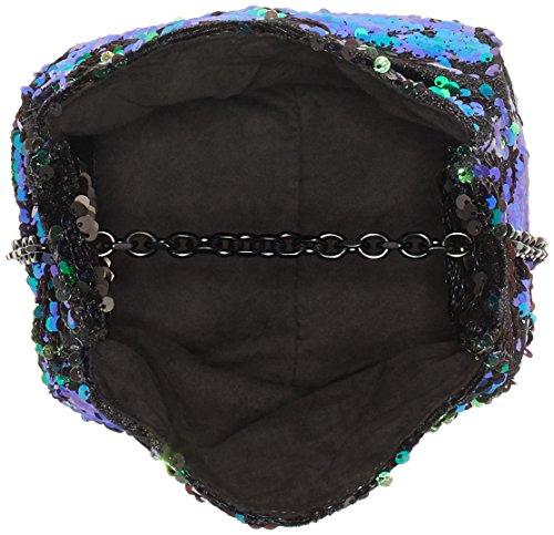 Kendall + Kylie - Amy, Borse a tracolla Donna Multicolore (Iridescent - Black)