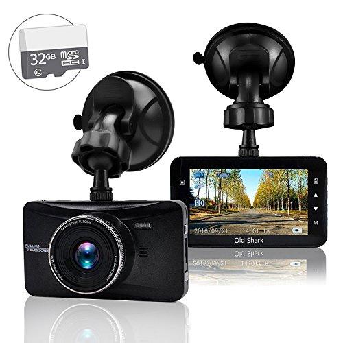 Dash Cam, OldShark Car Dashboard Camera 1080P Full HD 3.0
