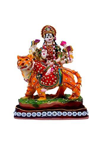 polyresin god maa durga idol statue gift items showpiece