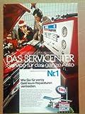 70er Jahre : ESSO SERVICE INFORMATION NR. 1 - alte Werbung /Originalwerbung/ Printwerbung /Anzeige /Anzeigenwerbung Format 15,5 x 27,5 cm