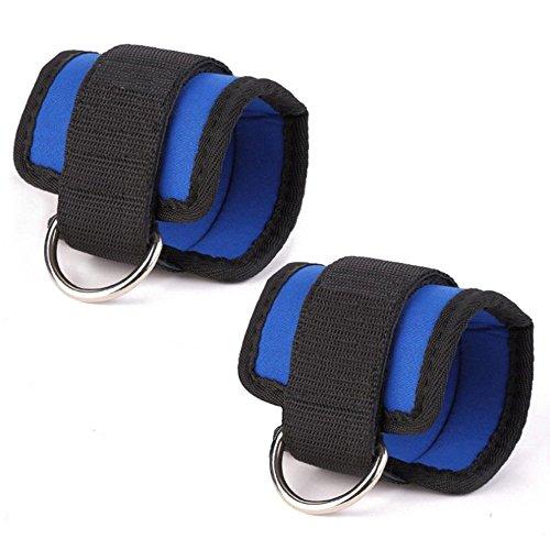 Eizur peso caviglia regolabile d-ring cavigliera per esercizi peso polso durevole per fitness, esercizio fisico, passeggiate, jogging, ginnastica, aerobica, palestra