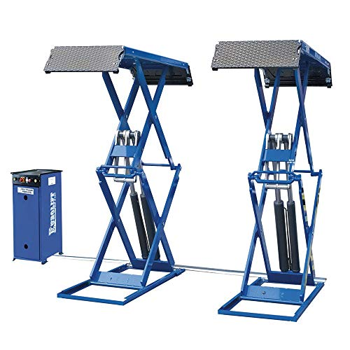 Lève-vitre pour voiture à double ciseaux surbaissé monophasé elettroidraulico pour voiture 3200 kg zavagli z25 m