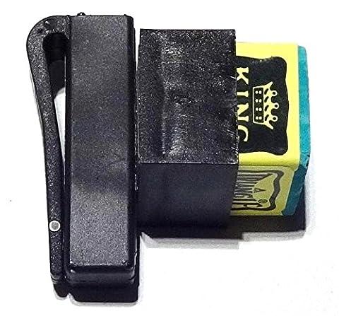 Cue & Case Man Porte craie billard magnétique (Magna Grip)