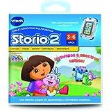VTech Storio - Juego para tablet educativo, Dora la Exploradora (3480-230622)