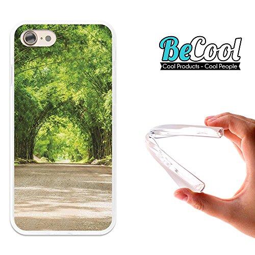 BeCool®- Coque Etui Housse en GEL Flex Silicone TPU Iphone 8, Carcasse TPU fabriquée avec la meilleure Silicone, protège et s'adapte a la perfection a ton Smartphone et avec notre design exclusif. Fro L1234