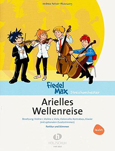 Arielles Wellenreise - eine musikalische Unterwasserreise für Streichinstrumente [Noten/Sheetmusic]