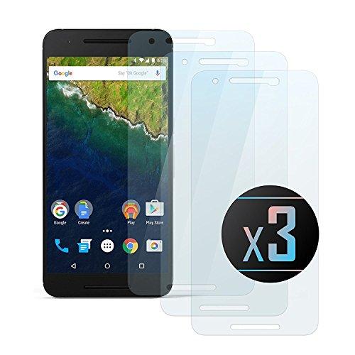 3 x Cristal Templado Protector de Pantalla Para Huawei Nexus 6P -...