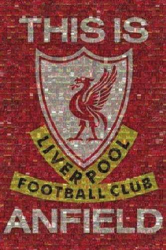 Póster 'Liverpool - This is Anfield', Tamaño: 91 x 61...