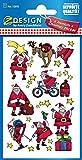 Best papá joyerías - Avery 52815 pegatinas de Navidad, Papá Noel, Papel Review