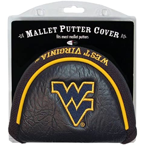 Equipo de Golf 25631 West Virginia Mountaineers Mallet Cubierta Putter
