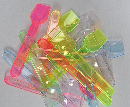 Eis Löffel 1kg NEON Kunststoff (ca. 750)