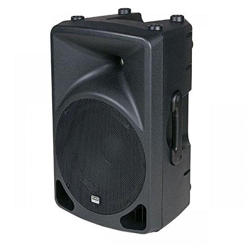 'Audio X-Splash Activer 12200W Schwarz Lautsprecher-Lautsprecher (XLR, Boden, 2,54cm (1Zoll), 30,5cm (12), 30,5cm, 200W) -