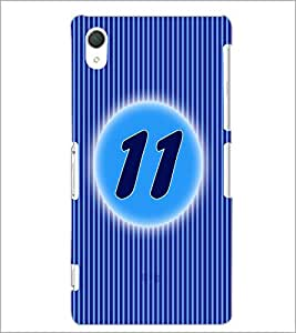PrintDhaba Numerology Number 11 D-2567 Back Case Cover for SONY XPERIA Z3 (Multi-Coloured)