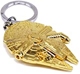 Chamber37 Star Wars Collectors Keyring (Millennium Falcon - Gold) by Chamber37
