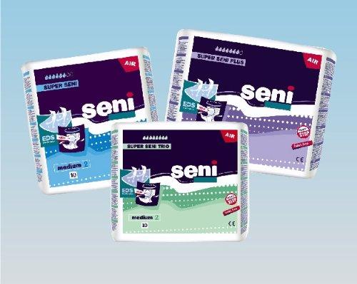 Windelhosen SUPER SENI PLUS Gr. 2 Medium Windeln-Nacht für Erwachsene 30 Stück - 3