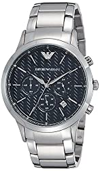 Emporio Armani Analog Black Dial Mens Watch - AR2486