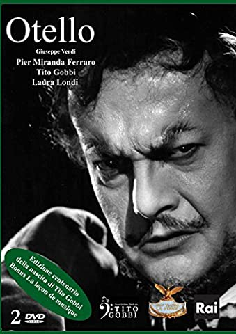 Verdi: Otello with Tito Gobbi, live Venice 1966 + bonus of music lesson given by Gobbi, Rome 1980 (2 all-region DVDs) [UK Import]
