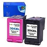 Gmoher Reconditionné Cartouche d'encre pour HP 304XL HP 304 Cartouche d'encre N9KO8A...