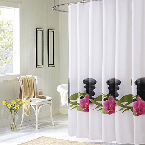 Rideaux de douche Rideau de douche Refroidisseur étanche Moldy Epais Multi-size Optionnel Rideau de douche de haute qualité rideaux de douche anti moisissure ( taille : 150cm*200cm )