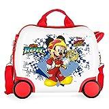 Disney Joy Valigia per Bambini, 41 centimeters, Multicolore (Multicolor)