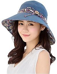 8836b06f HAPEE Sun Hats for Women,Lovely Summer Ladies Sun Hat Floppy,Packable,uv