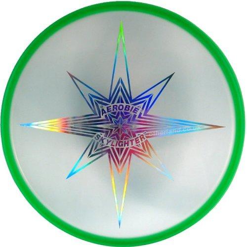 Aerobie Skylighter Beleuchtete Flying Disc (grün) Farbe: grün
