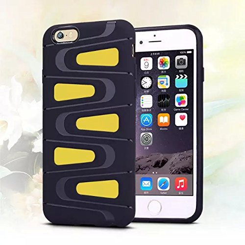 Ronney 's New schwarz TPU Handy Case für Apple iPhone 5/5S 6/6S 6 + 6 + S Samsung Galaxy S6/S6 Edge, plastik, violett, APPLE IPHONE 6+/6+S gelb