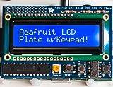 Adafruit Blue&White Kit LCD 16x2 + clavier pour Raspberry Pi