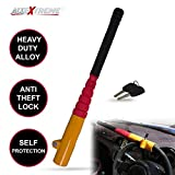 #10: AllExtreme Heavy Duty Baseball Bat Style Car Steering Wheel Lock Anti-theft Security Self Protection Lock with Keys for All Cars, SUVs and Trucks