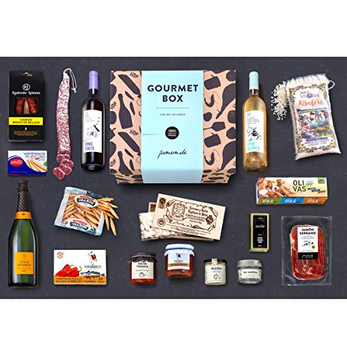 Feinkost-Präsentkorb Gourmet mit spanischen Delikatessen – Geschenkkorb für Feinschmecker & Freunde der mediterranen Küche