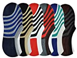 #2: BuyBox® High Quality Loafer Socks For Men and Women (6 Pairs)