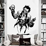 LUANQI Joker Sticker Mural Comics Super-Héros DC Marvel Decal de Vinyle Home Interior Decoration Room Art Mural 57x60cm 2