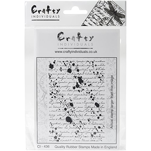 crafty-individuals-unmounted-rubber-stamp-475-inch-x-7-inch-pkg-inky-script-background