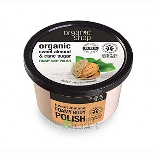 Organic Shop Almendra Dulce Exfoliante Corporal Espumoso