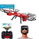 Drone FPV Sky Phantom con Gafas VR | FPV a Gafas VR | Cámara HD | Control Altura | Iniciación Aprender